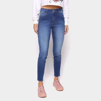 Calça Jeans Skinny Colcci Kim Cintura Média Feminina