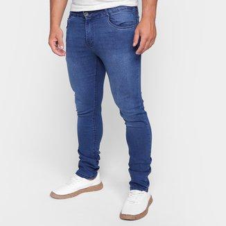 Calça Jeans Skinny Ecxo Estonada Masculina