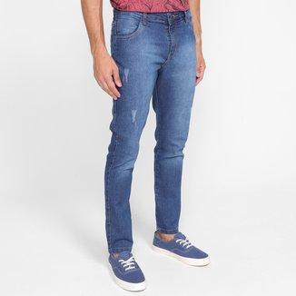 Calça Jeans Skinny Evidence Estonada Masculina