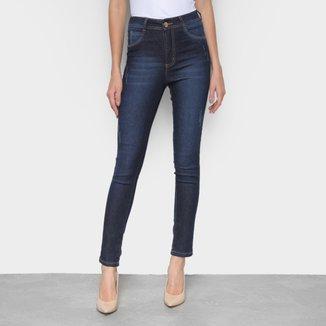 Calça Jeans Skinny Exco Cintura Média Feminina