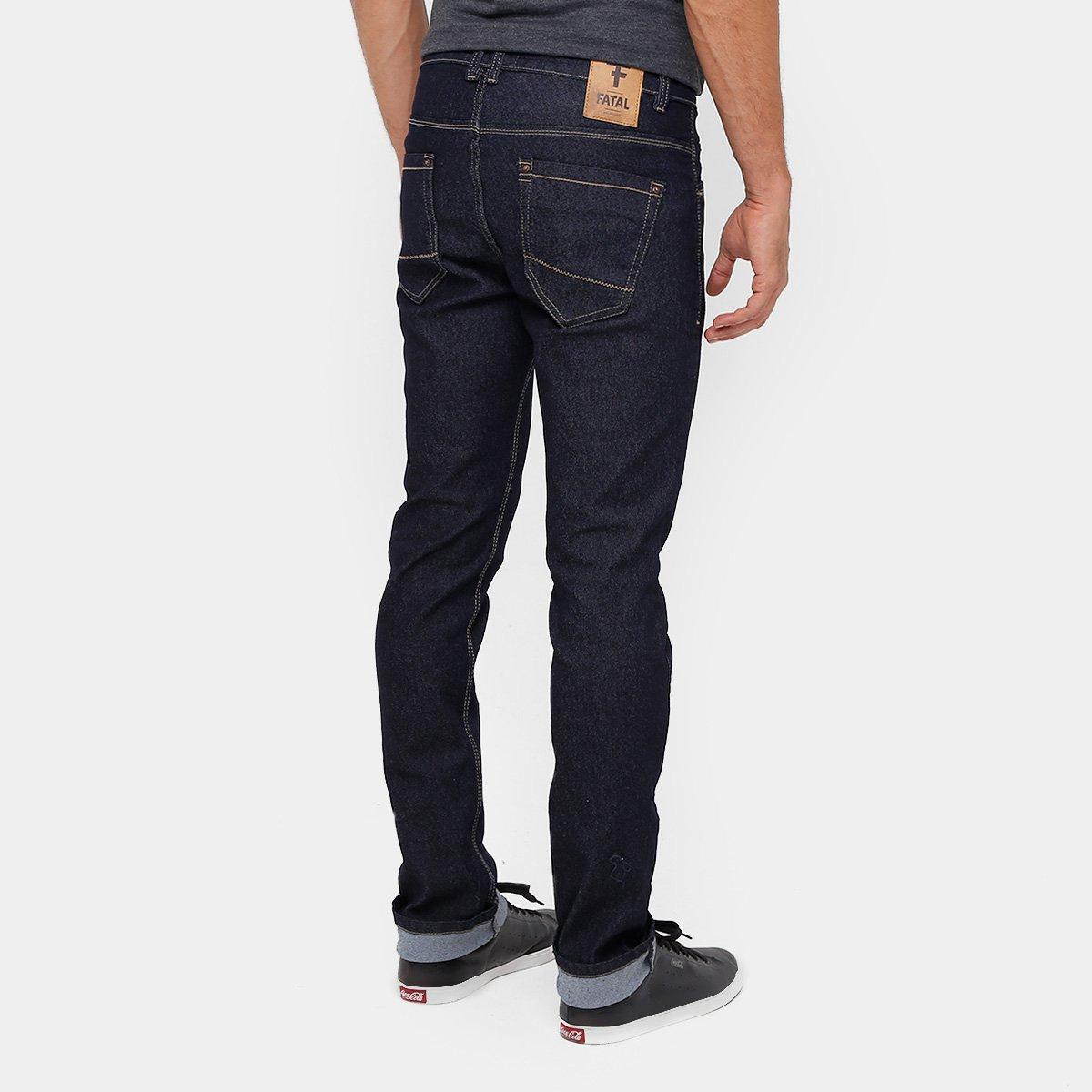 f0a2b6044 Calça Jeans Skinny Fatal Masculina  Calça Jeans Skinny Fatal Masculina ...