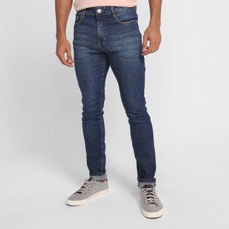 Calça Jeans Skinny Hering Casual Masculina