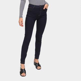 Calça Jeans Skinny Hering Cintura Alta Feminina