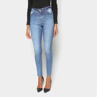 Calça Jeans Skinny Jezzian Jeans Estonada Feminina