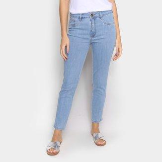 Calça Jeans Skinny Lança Perfume Cintura Média Feminina