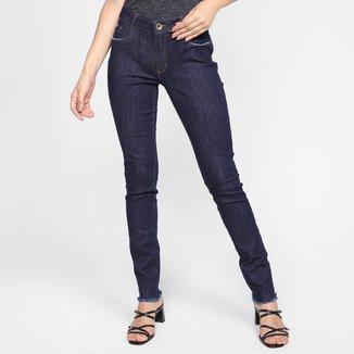 Calça Jeans Skinny Lança Perfume Estonada Feminina