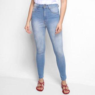 Calça Jeans Skinny My Favorite Thing s Second Ankle Super High Cintura Alta Feminina