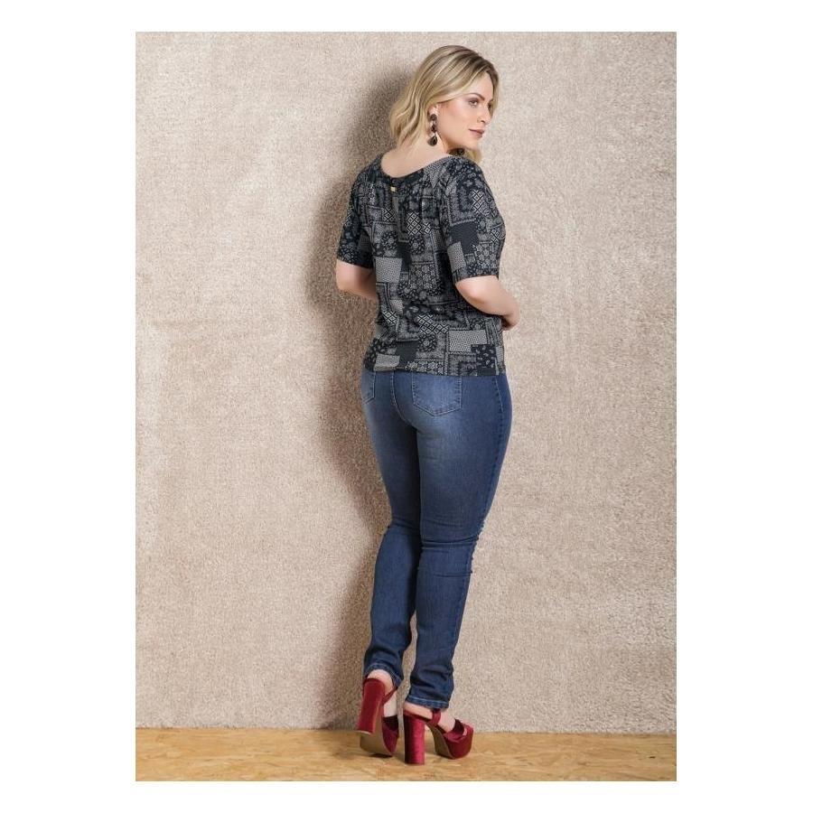 Calça Jeans Skinny Quintess Plus Size Feminina - Compre Agora  d3b7c78c7ec