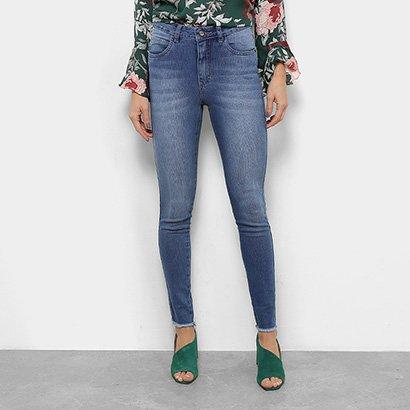 Calça Jeans Skinny Razon Cintura Média Feminina-Feminino
