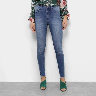 Calça Jeans Skinny Razon Cintura Média Feminina