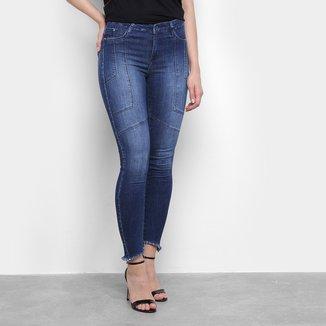 Calça Jeans Skinny Sawary Cigarrete Feminina