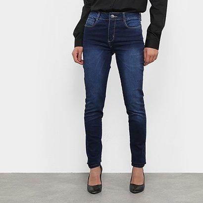 Calça Jeans Skinny Sawary Compressora Feminina