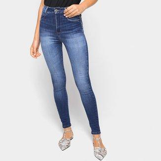 Calça Jeans Skinny Sawary Estonada Feminina