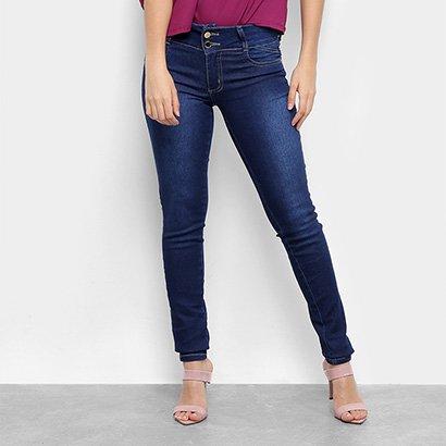Calça Jeans Skinny Sawary Feminina