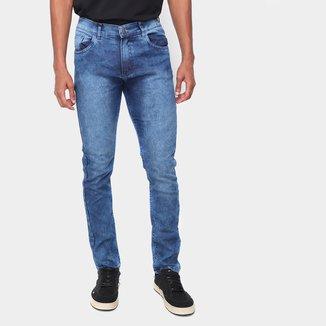 Calça Jeans Skinny Via Quatro Masculina