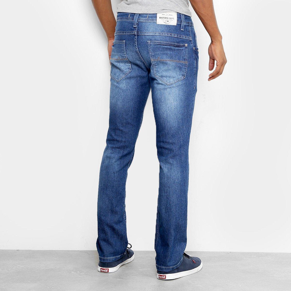 Calça Jeans Slim Biotipo Soft Estonada Masculina - Jeans - Compre ... f426293b8de
