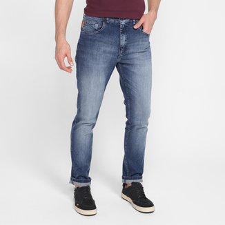 Calça Jeans Slim Ellus High Comfort Blue Masculina