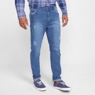 Calça Jeans Slim Evidence Masculina