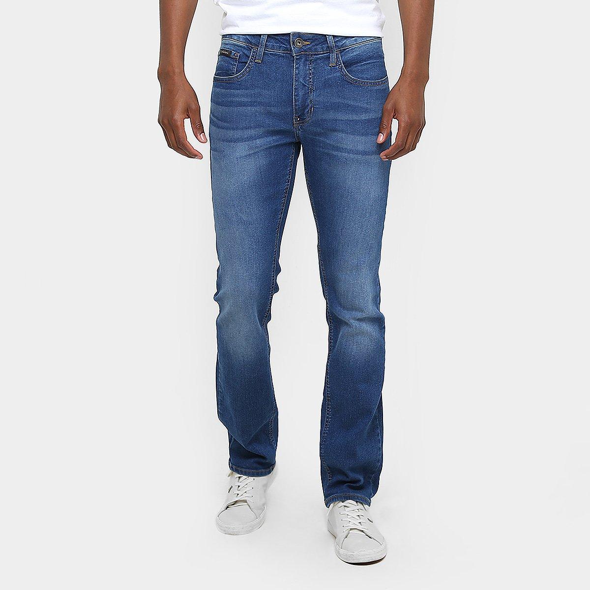 Calça Jeans Slim Fit Calvin Klein Stone Azul Masculino - Compre ... 507991aa4b2