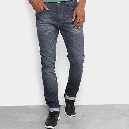 Calça Jeans Slim Forum Alexandre Estonada Masculina - Zattini BR