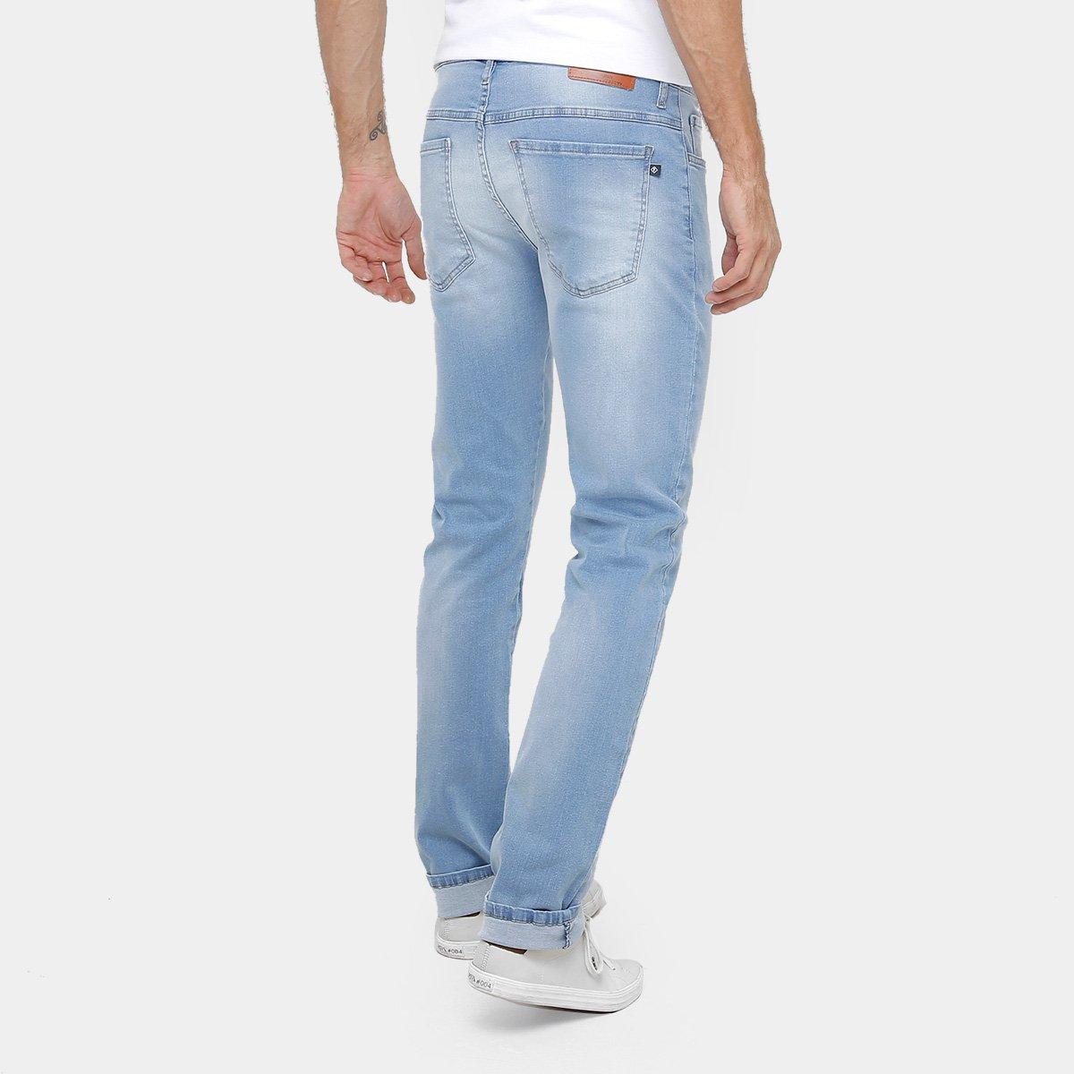 Calça Jeans Slim Forum Paul Indigo Masculina - Compre Agora  e43ef4a3c9c6f