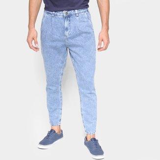 Calça Jeans Slim Hering Bolso Faca Masculina