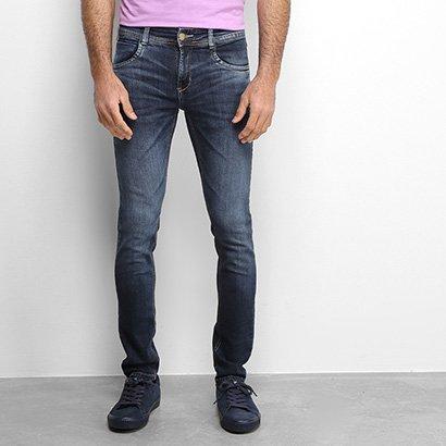 Calça Jeans Slim Sawary Estonada Masculina
