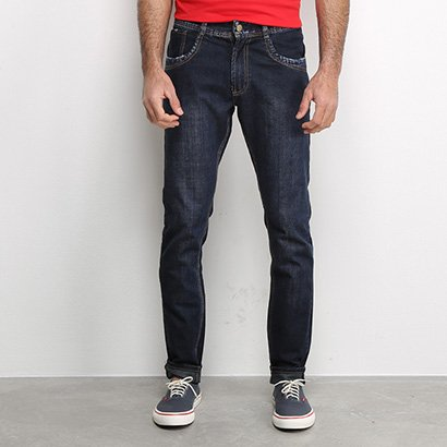 Calça Jeans Slim Sawary Masculina