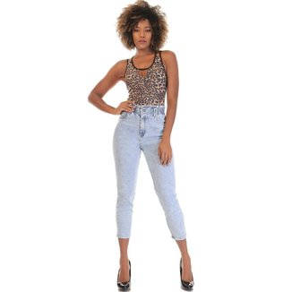 Calça jeans slouchy Sawary  feminina