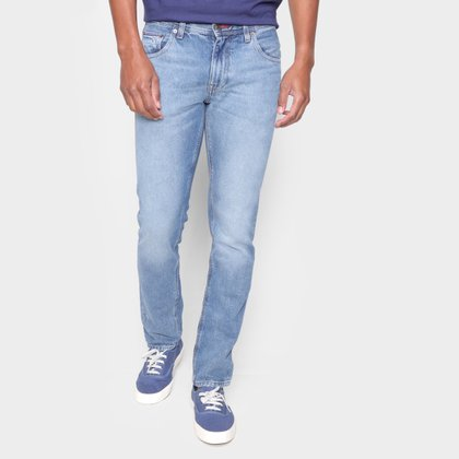 Calça Jeans Tommy Hilfiger Skinny Estonada Masculina