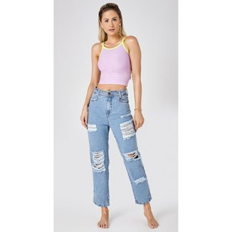 Calça Jeans Use Jeans Express Mom Jeans Lya