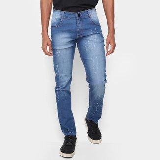 Calça Jeans Via Quatro Puídos Masculina