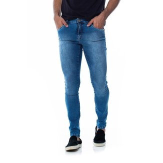 Calça Jeans Z-32 Skinny 1013224209 Azul - Azul - 38