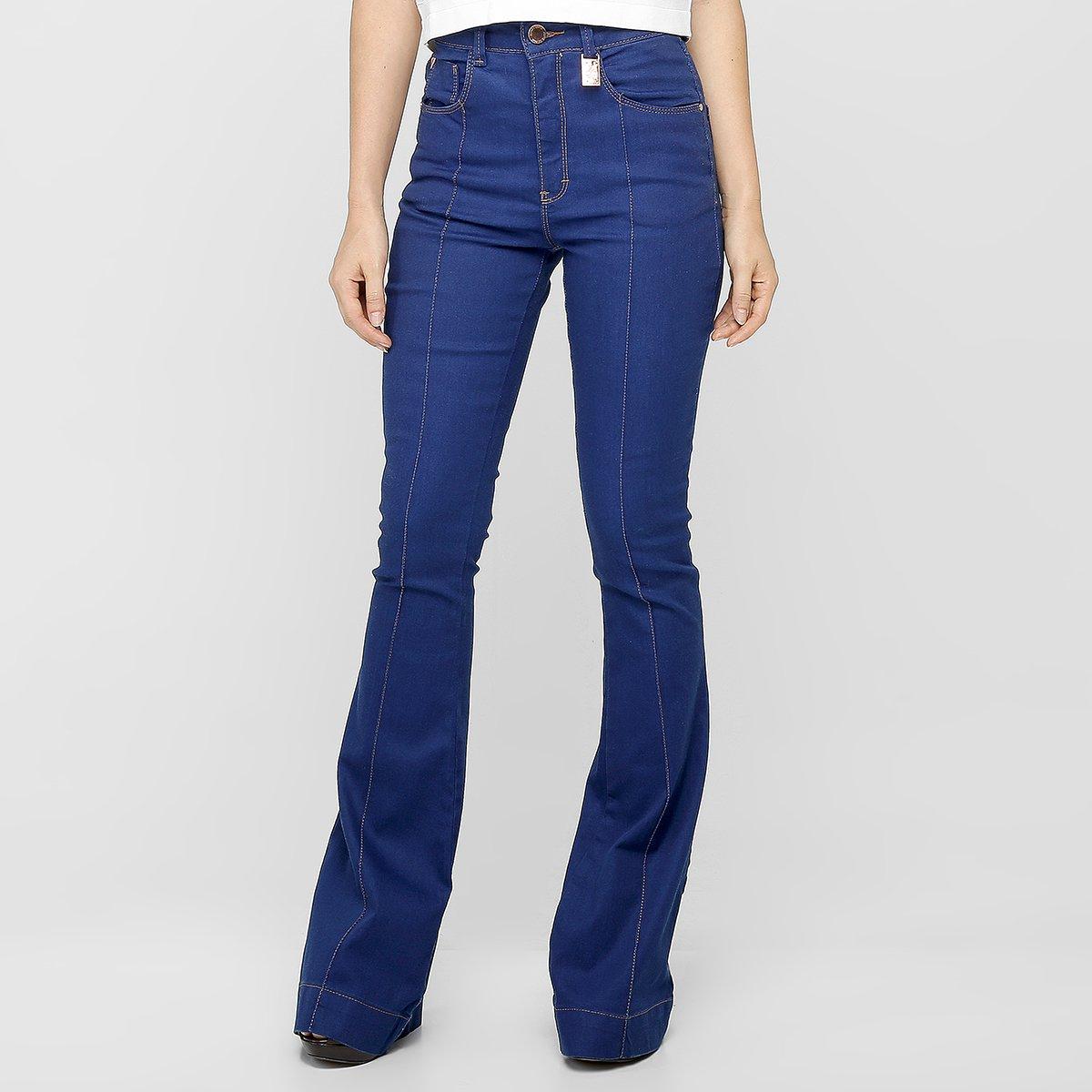 187078e32 Calça Jeans Zune Flare Cintura Alta - Jeans | Zattini