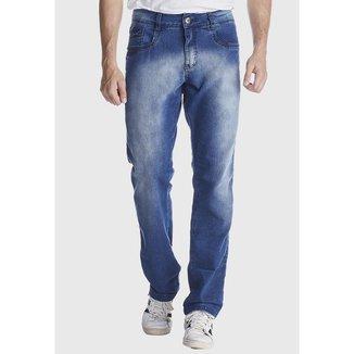 Calça Jeans Zuren Reta Azul