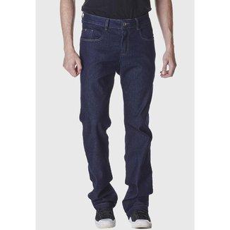 Calça Jeans Zuren Reta Tradicional Azul Escuro