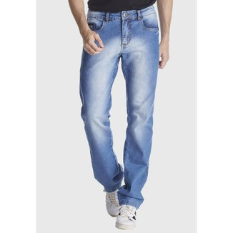 Calça Jeans Zuren Reta Used Azul
