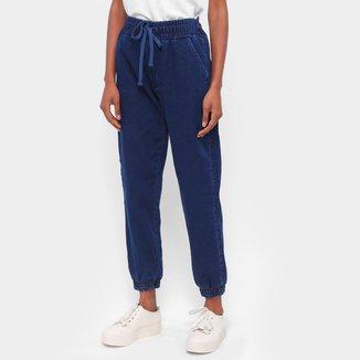Calça Jogger Moletom Ex Adverso Jeans Feminina