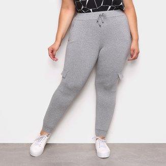 Calça Jogger Plus Size ESV Feminina
