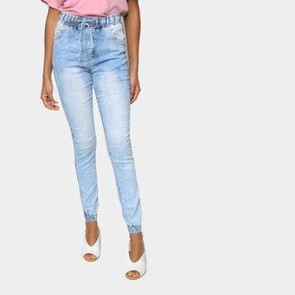 Calça Jogger Skinny Jezzian Jeans Feminina