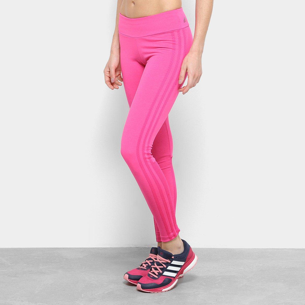 4a69a6f8a Calça Legging Adidas 3Stripes Mobility Feminina - Compre Agora