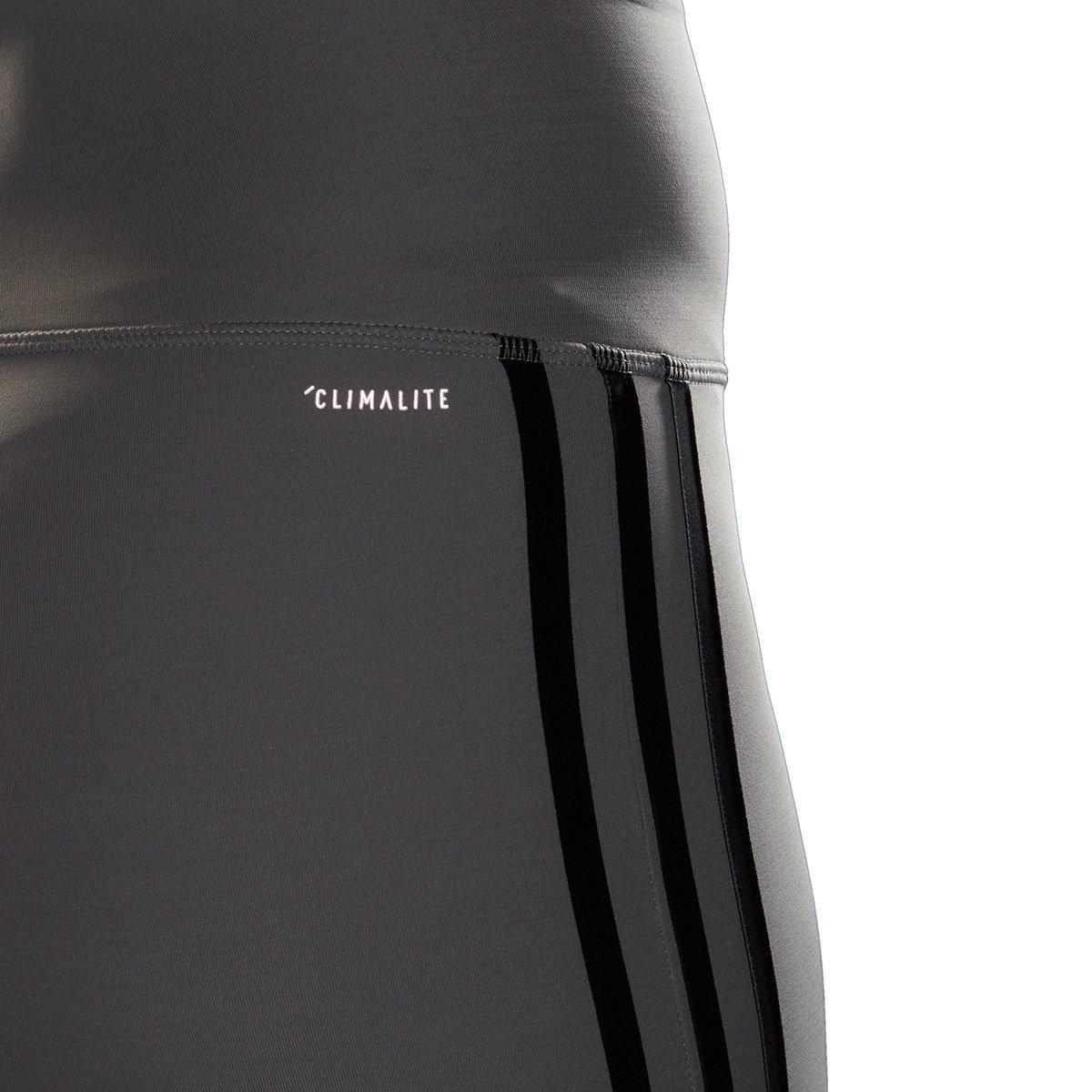 Calça Legging Adidas D2M Hr 78 3Stripes Feminina | Zattini