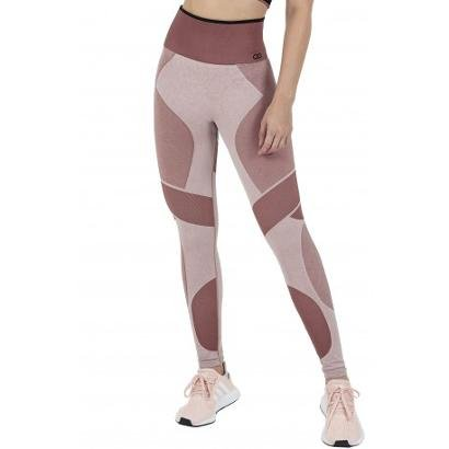 Calça Legging Alto Giro Sem Costura Feminina