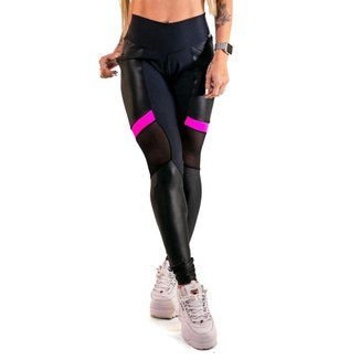 Calça Legging Feminina Zng Pink Pocket - G