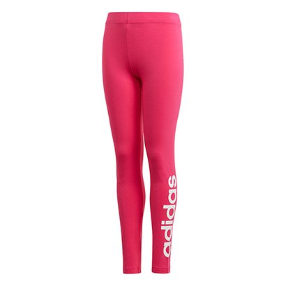 Calça Legging Infantil Adidas Estampa Logo YG Lin Tght Feminina