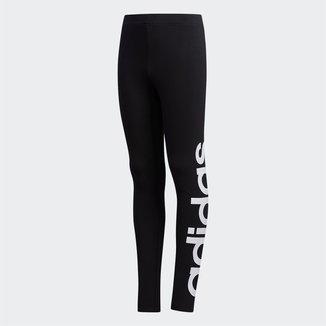 Calça Legging Infantil Adidas Linear Logo Tight Feminina
