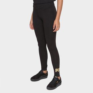Calça Legging Puma Essentials Metallic Feminina