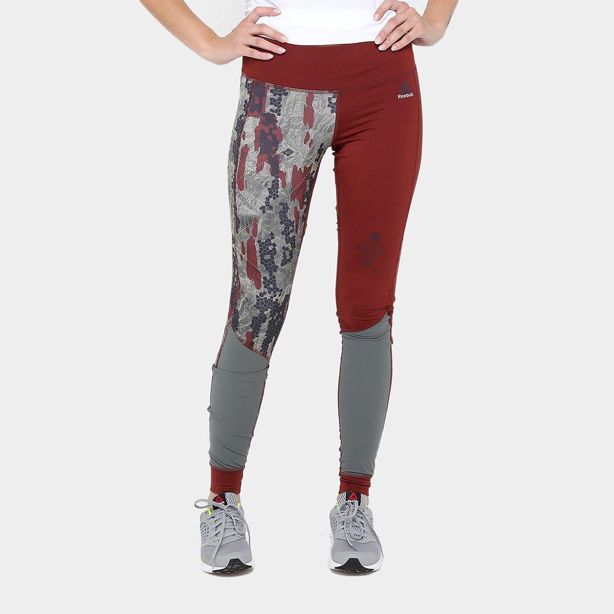 45498b3507a Calça Legging Reebok Compressão Sr Feminina - Compre Agora