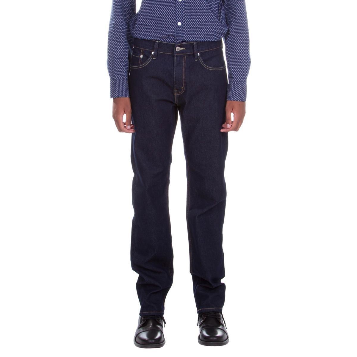 5baad7ec79c86 Calça Levi s Regular Fit Masculina - Preto - Compre Agora
