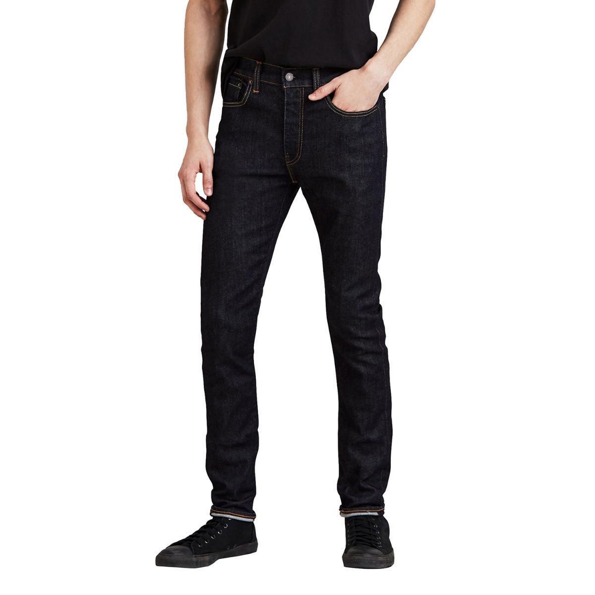 Calça Levi s Super Skinny Masculina - Preto - Compre Agora  e4f4f820cc7